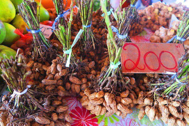 Peanuts in Port Vila Central Market - Vanuatu