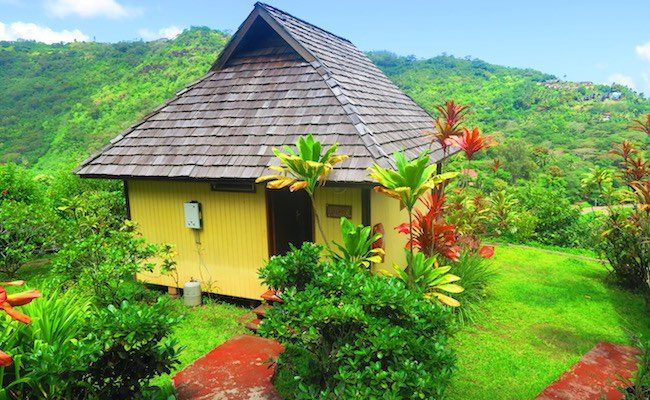 Pension Kanahau chez Tania Hiva Oa Marquesas Islands - bungalow exterior