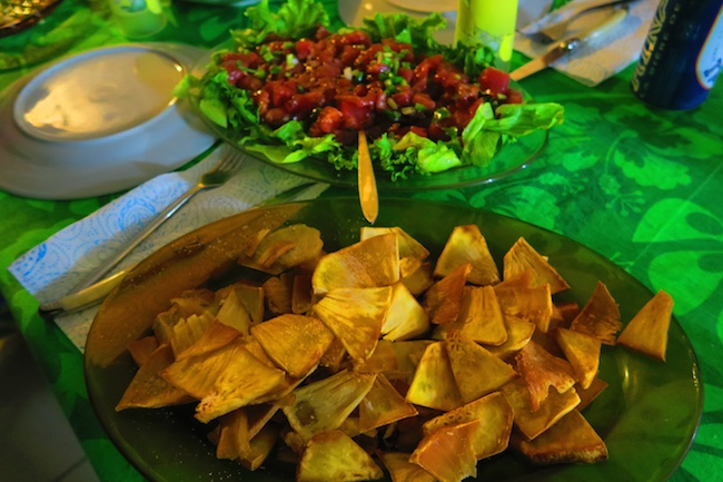 Pension Koku'u dinner Nuku Hiva Marquesas Islands French Polynesia