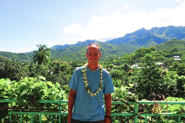 Pension Koku'u selfie Nuku Hiva Marquesas Islands French Polynesia