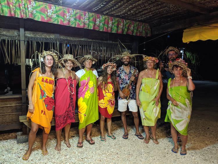 Pension in Fakarava French Polynesia
