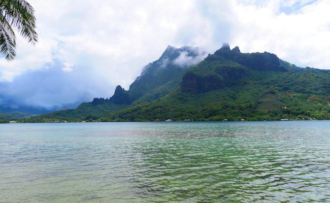 Pihaena Lookout Moorea French Polynesia