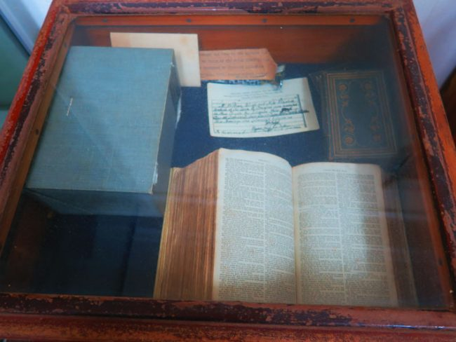 Pitcairn Island Museum - HMS Bounty Bible