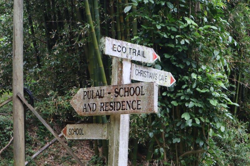 Pitcairn Island - signs