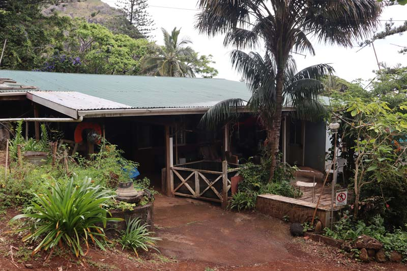 Pitcairn Island - typical house