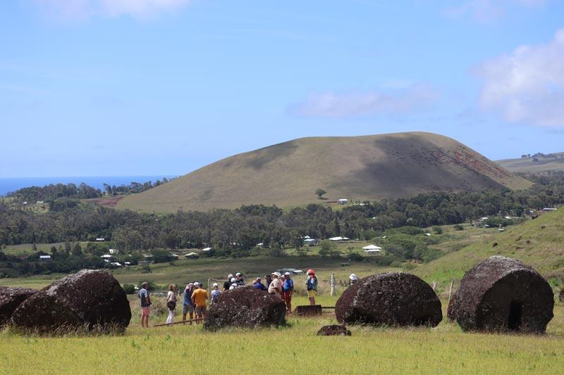 Puna Pau pukao quarry - Easter Island