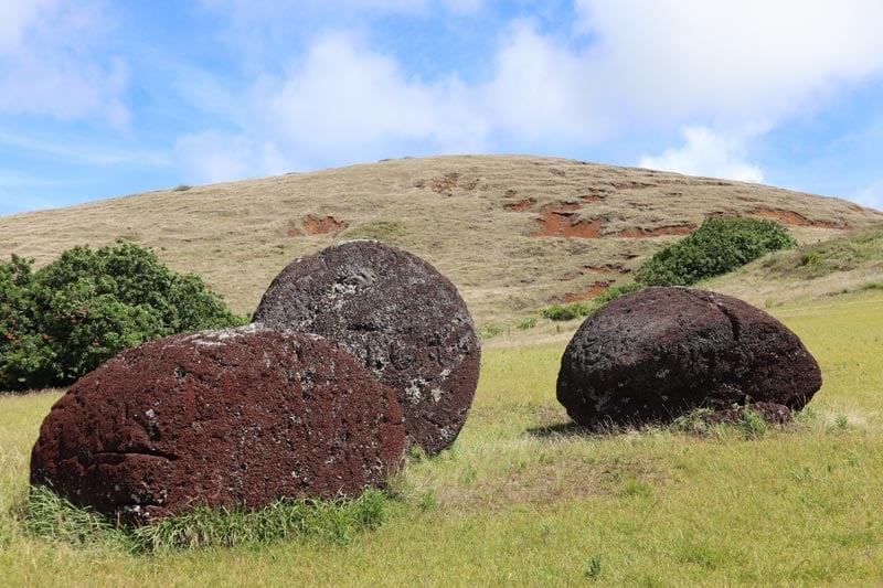 Puna Pau quarry - Easter Island