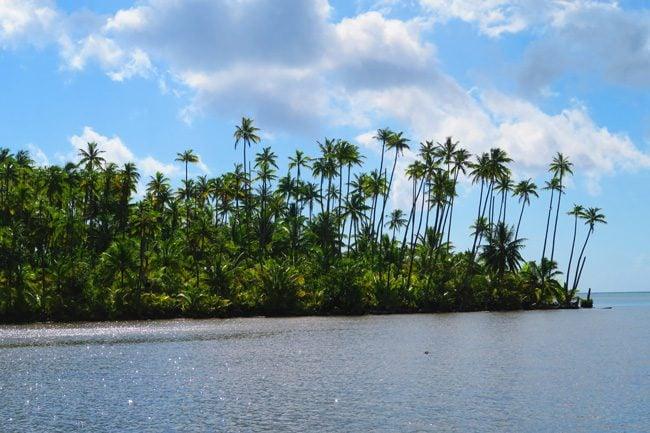 Raiatea Island French Polynesia motu