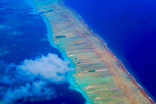 Rangiroa French Polynesia from the air 2