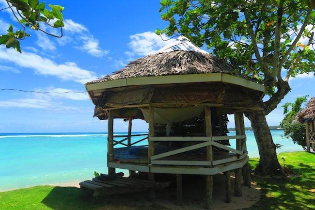 Regina's Beach Fales Manase Savaii Samoa - beach hut
