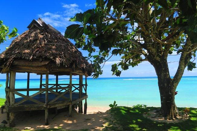 Regina's Beach Fales Manase Savaii Samoa - exterior
