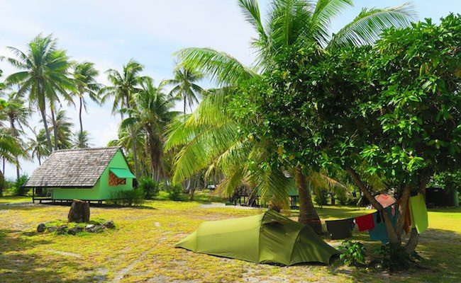 Relais Marama fakarava cheap accommodation - camping