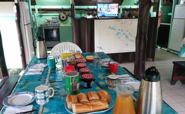Relais Marama fakarava cheap accommodation - free breakfast