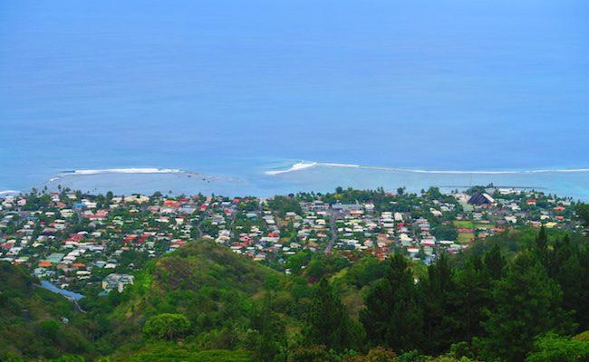 Residence Aito Papeete Tahiti French Polynesia view