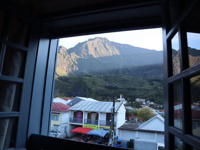 Residence Eglantine - Cilaos Hotel - Reunion Island - view from room