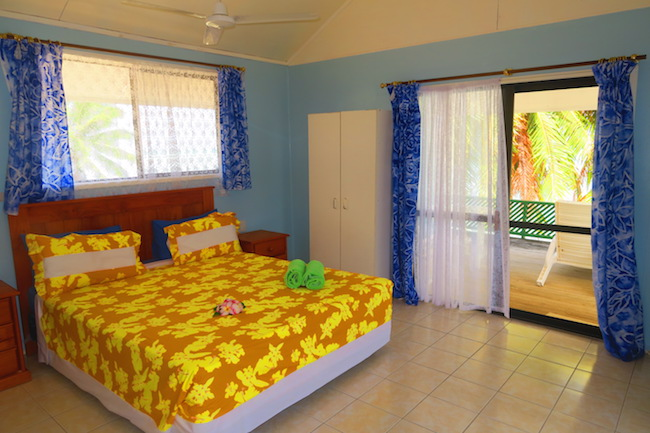 Rinos Motel Aitutaki Cook Islands - bedroom