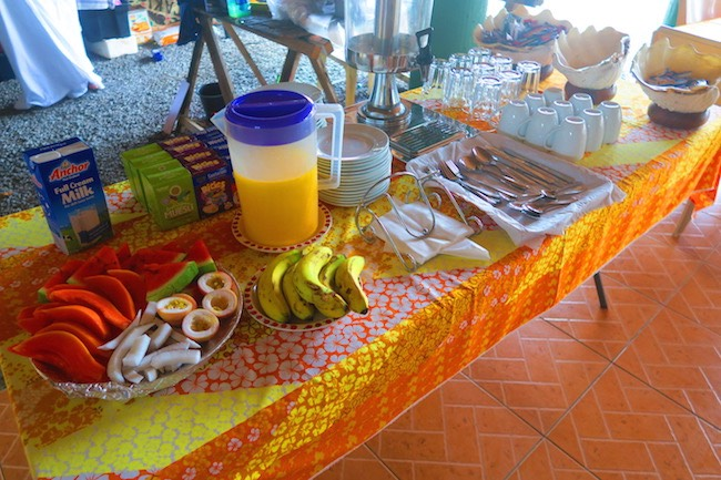 Rinos Motel Aitutaki Cook Islands - breakfast