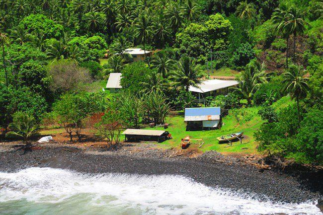 Road trip Hiva Oa Marquesas Islands French Polynesia Motuua Village
