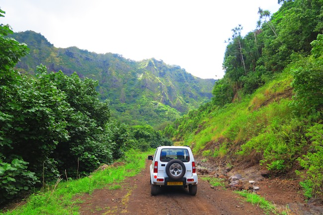 Road trip Hiva Oa Marquesas Islands French Polynesia jeep offroad