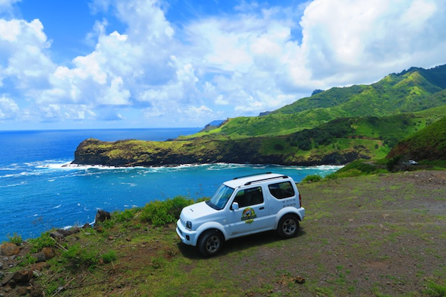 Road trip Hiva Oa Marquesas Islands French Polynesia