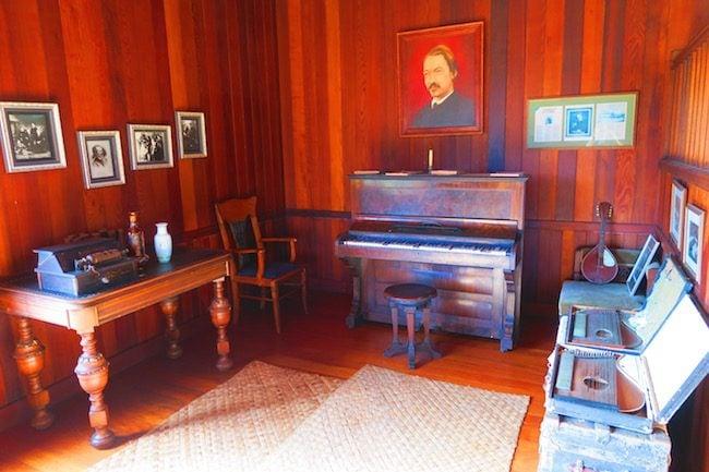 Robert Louis Stevenson Museum Apia Samoa - music room