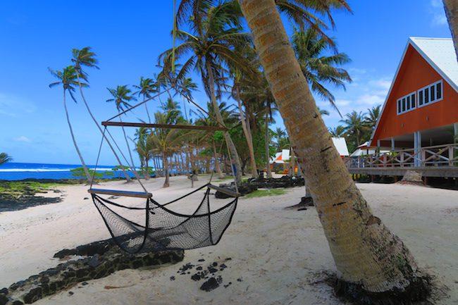 SaMoana Resort Samoa - hammoc