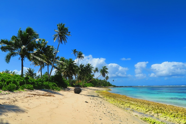 Salamumu Tropical Beach Samoa