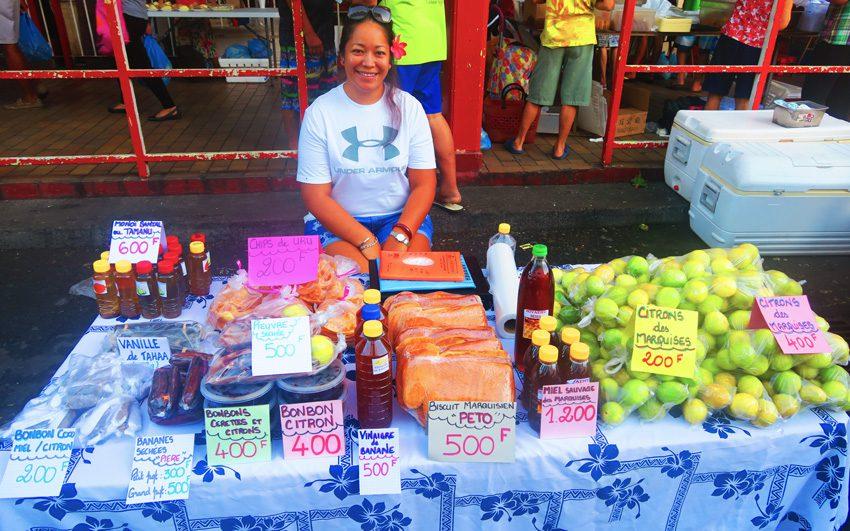 Sunday Market - Papeete - Tahiti - French Polynesia