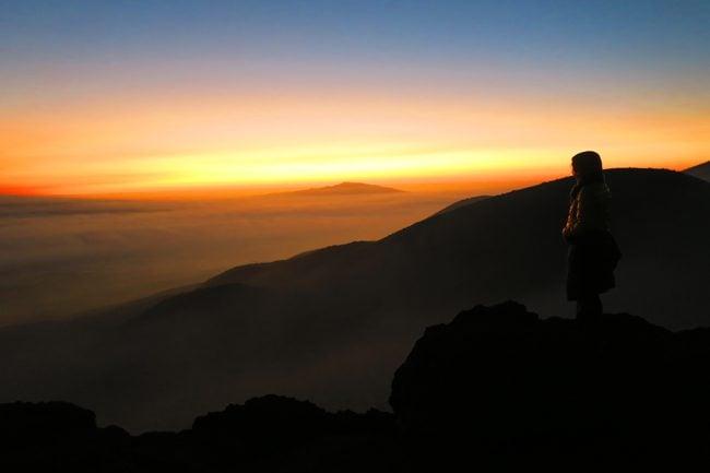 Sunset on Mauna Kea - Big Island Hawaii 2