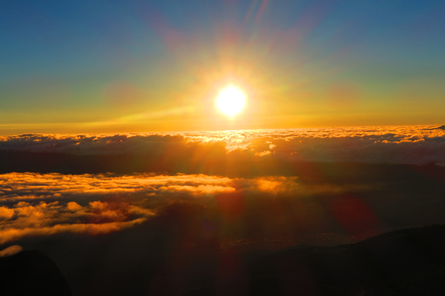 Sunset on Mauna Kea - Big Island Hawaii