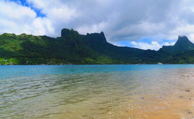 Ta'ahiamanu Mareto Beach Moorea French Polynesia Bay