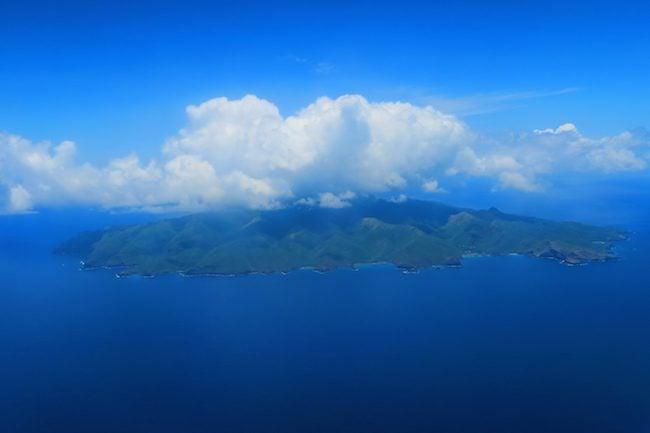 Tahuata Aerial View Hiva Oa Marquesas Islands French Polynesia