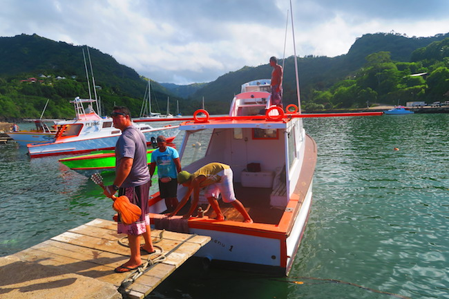 Tahuata Day Trip Hiva Oa Marquesas Islands French Polynesia boat