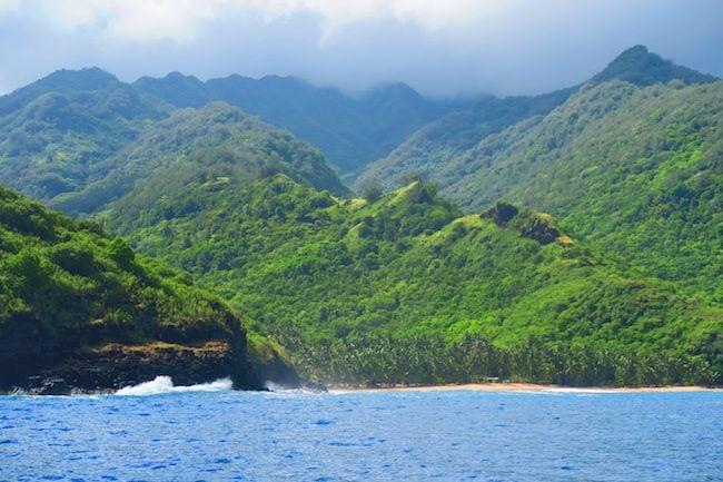 Tahuata Day Trip Hiva Oa Marquesas Islands French Polynesia rugged beach
