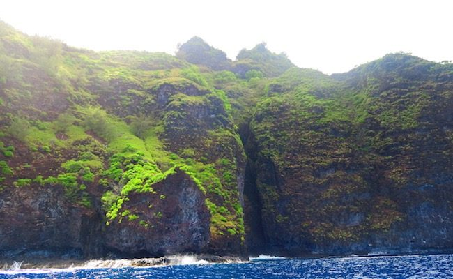 Tahuata Island Day Trip hiva oa = cliff