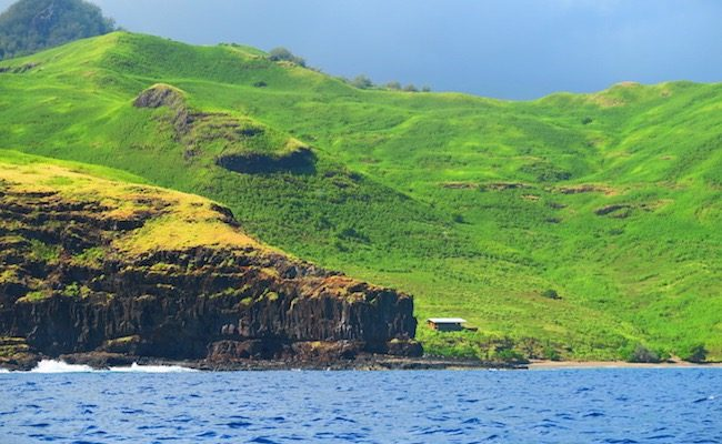 Tahuata Island Day Trip hiva oa- view from boat