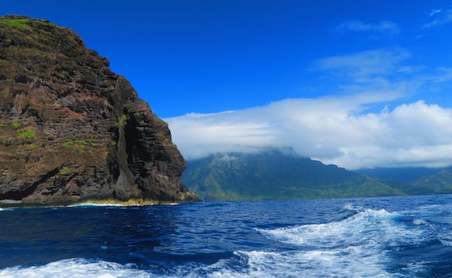 Tahuata Island Day Trip - view of hiva oa