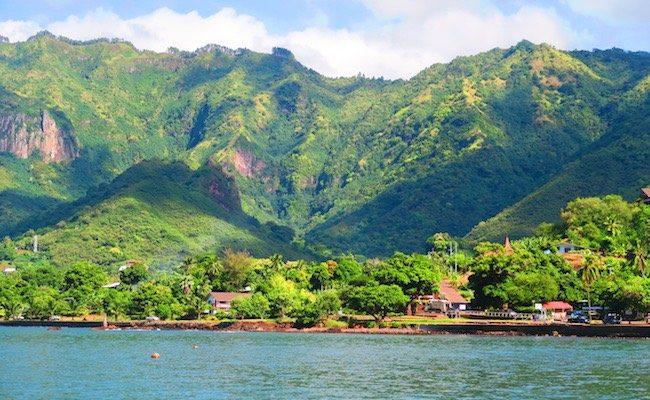 Taiohae nuku hiva marquesas islands - harbor