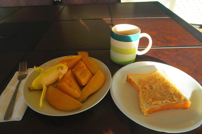 Talofa Inn Apia Samoa - breakfast 2