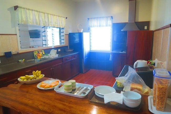 Talofa Inn Apia Samoa -breakfast