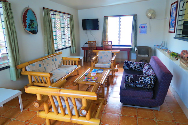 Talofa Inn Apia Samoa - living room