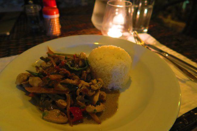 Tanna Evergreen Resort In Vanuatu - Dinner