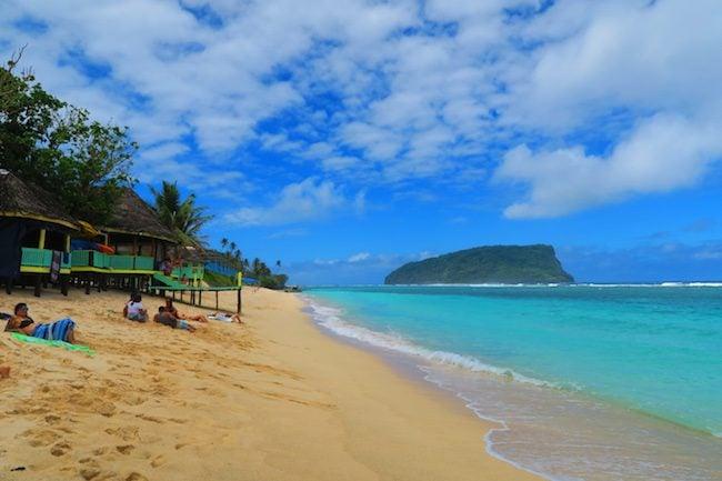 Taufua Beach Fales Lalomanu Beach Samoa