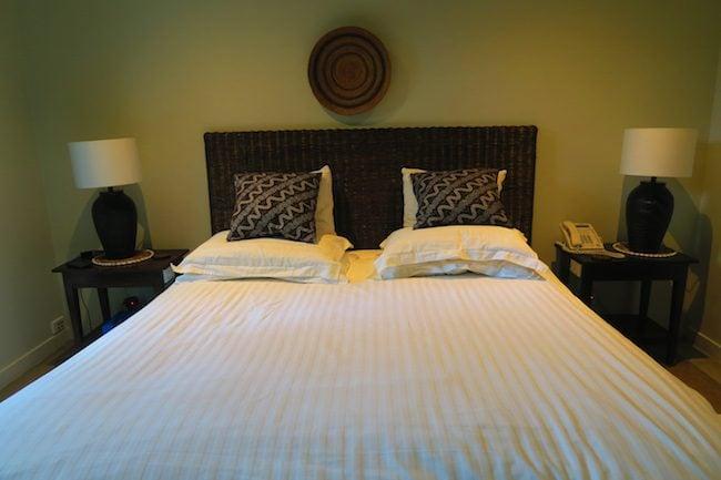 Te Vakaroa Luxury Villas Rarotonga Cook Islands - bedroom
