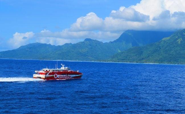 Terevau Ferry Moorea French Polynesia