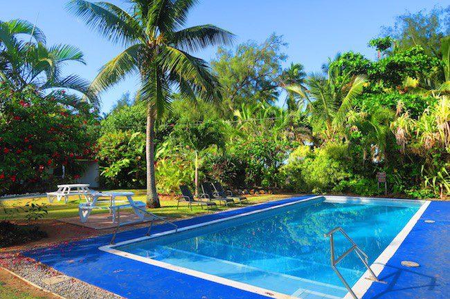 The Black Pearl At Puaikura Rarotonga Cook Islands - pool area
