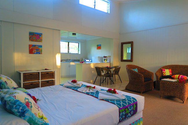 The Black Pearl At Puaikura Rarotonga - cabana room