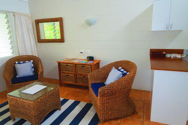 The Black Pearl At Puaikura Rarotonga - living area