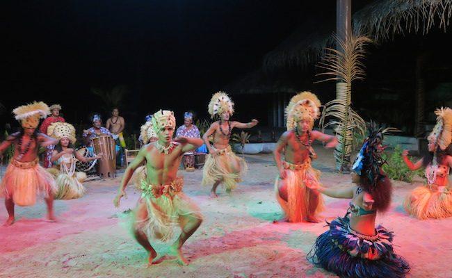 Tiki Village Moorea French Polynesia dance show
