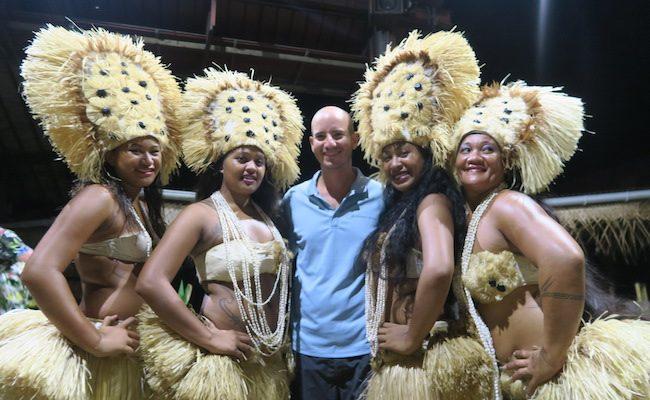 Tiki Village Moorea French Polynesia dancers